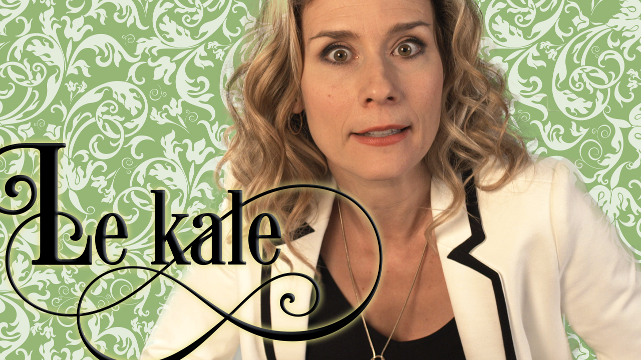 Le kale selon Florence Champagne
