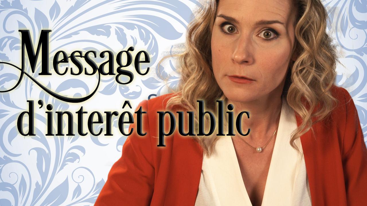 Message d'intérêt public de la part de Florence Champagne